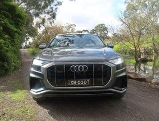 2019 Audi Q8 55 TFSI Tiptronic Quattro Grey 8 Speed Sports Automatic Wagon.