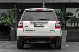 2010 Land Rover Freelander 2 LF 10MY Si6 SE White 6 Speed Sports Automatic Wagon