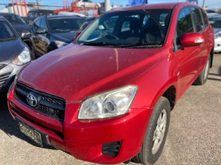 2010 Toyota RAV4 ACA38R MY09 CV 4x2 Red 5 Speed Manual Wagon.