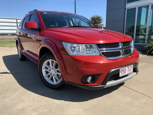 Used Dodge Journey JC MY12 SXT Townsville, 2012 Dodge Journey JC MY12 SXT Red/310713 6 Speed Automatic Wagon