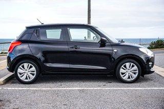 2017 Suzuki Swift AZ GL Navigator Black 1 Speed Constant Variable Hatchback.