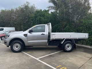 2017 Ford Ranger PX MkII XL Hi-Rider Silver 6 Speed Manual Cab Chassis