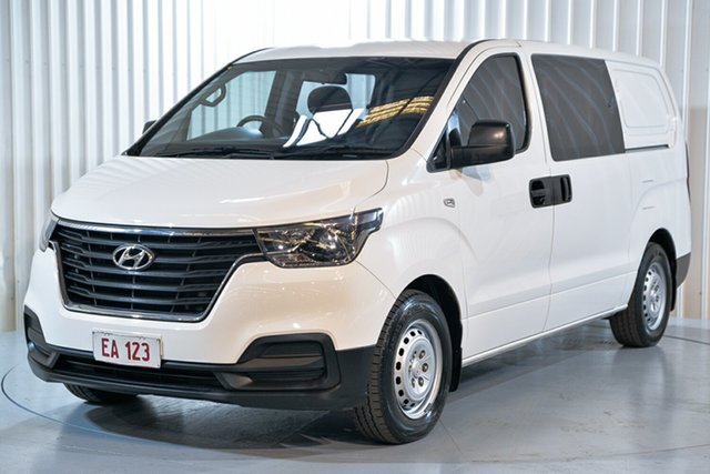 Used Hyundai iLOAD TQ3-V Series II MY18 Hendra, 2018 Hyundai iLOAD TQ3-V Series II MY18 White 5 Speed Automatic Van