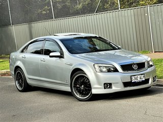 2011 Holden Caprice WM II V Silver 6 Speed Sports Automatic Sedan.