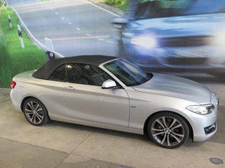 2015 BMW 228i F23 Sport Line 8 Speed Automatic Convertible.