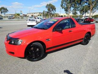 2008 Holden Ute VE Omega Red 6 Speed Manual Utility.
