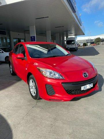 Used Mazda 3 BL10F2 MY13 Neo Activematic Ravenhall, 2013 Mazda 3 BL10F2 MY13 Neo Activematic Red 5 Speed Sports Automatic Sedan