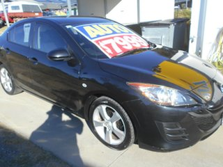 2010 Mazda 3 BL10F1 MY10 Neo Activematic Black 5 Speed Sports Automatic Sedan.