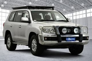 2008 Toyota Landcruiser VDJ200R GXL Silver 6 Speed Sports Automatic Wagon.