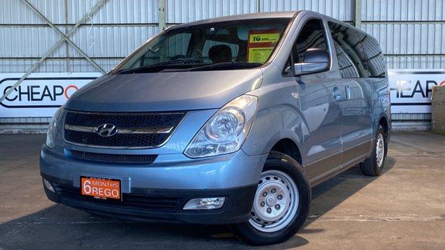Used Hyundai iMAX TQ-W Selectronic Rocklea, 2010 Hyundai iMAX TQ-W Selectronic Blue 5 Speed Sports Automatic Wagon