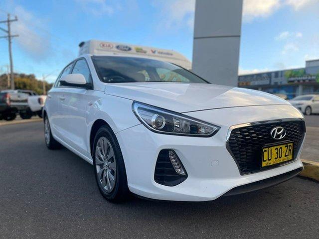 Used Hyundai i30 Go Goulburn, 2019 Hyundai i30 Go White Sports Automatic Hatchback