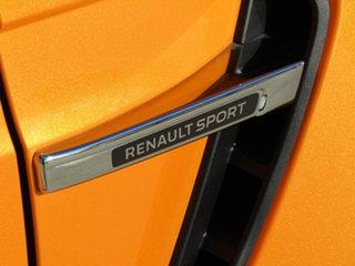 2018 Renault Megane BFB R.S. 280 EDC Orange 6 Speed Sports Automatic Dual Clutch Hatchback.
