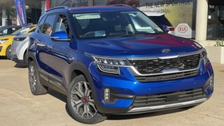 2021 Kia Seltos SP2 MY22 GT-Line DCT AWD Neptune Blue 7 Speed Sports Automatic Dual Clutch Wagon.