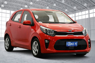 2019 Kia Picanto JA MY19 S Signal Red 4 Speed Automatic Hatchback.