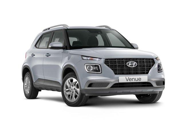 New Hyundai Venue QX.V3 MY21 Active Geelong, 2021 Hyundai Venue QX.V3 MY21 Active Typhoon Silver 6 Speed Manual Wagon