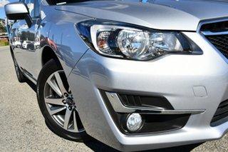 2016 Subaru Impreza G4 MY16 2.0i Lineartronic AWD Premium Ice Silver 6 Speed Constant Variable.