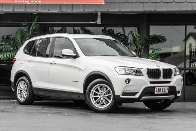Used BMW X3 F25 MY0412 xDrive20i Steptronic Bowen Hills, 2012 BMW X3 F25 MY0412 xDrive20i Steptronic White 8 Speed Automatic Wagon