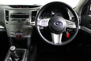 2010 Subaru Outback B5A MY11 2.0D AWD Premium White 6 Speed Manual Wagon