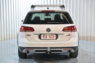 2017 Volkswagen Golf 7.5 MY17 Alltrack DSG 4MOTION 132TSI Premium White 6 Speed