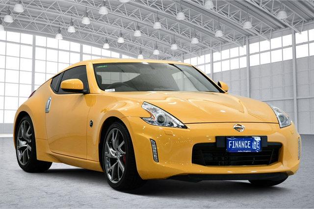 Used Nissan 370Z Z34 MY17 Victoria Park, 2017 Nissan 370Z Z34 MY17 Yellow 7 Speed Sports Automatic Coupe