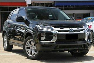 2021 Mitsubishi ASX XD MY21 ES 2WD Black 1 Speed Constant Variable Wagon.