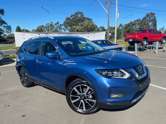 Used Nissan X-Trail T32 Series III MY20 Ti X-tronic 4WD Liverpool, 2020 Nissan X-Trail T32 Series III MY20 Ti X-tronic 4WD Marine Blue 7 Speed Constant Variable Wagon