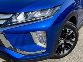 2020 Mitsubishi Eclipse Cross YA MY20 ES 2WD Blue 8 Speed Constant Variable Wagon.