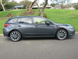 2021 Subaru Impreza G5 MY21 2.0i CVT AWD Magnetite Grey 7 Speed Constant Variable Hatchback.