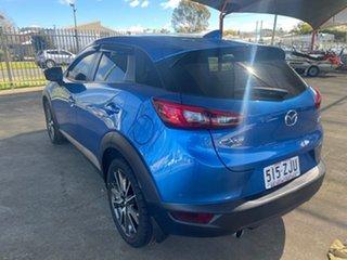 2016 Mazda CX-3 DK S Touring (AWD) Blue 6 Speed Automatic Wagon