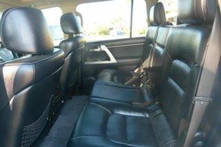 2013 Toyota Landcruiser VDJ200R MY13 Sahara White 6 Speed Sports Automatic Wagon