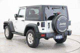2014 Jeep Wrangler JK MY2014 Sport White 6 Speed Manual Softtop.