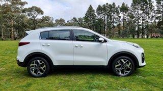 2021 Kia Sportage QL MY21 SX 2WD Clear White 6 Speed Automatic Wagon.