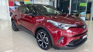 2017 Toyota C-HR NGX10R Koba S-CVT 2WD Red 7 Speed Constant Variable Wagon.