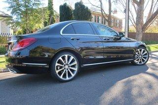 2015 Mercedes-Benz C-Class W205 806MY C250 d 7G-Tronic + Black 7 Speed Sports Automatic Sedan.