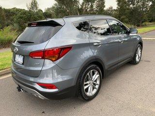 2017 Hyundai Santa Fe DM5 Series II Highlander Silver Sports Automatic Wagon.