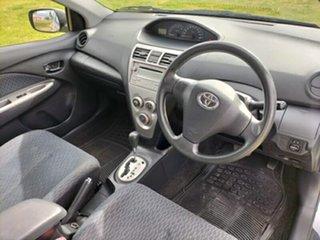 2009 Toyota Yaris NCP93R MY09 YRS Silver 4 Speed Automatic Sedan