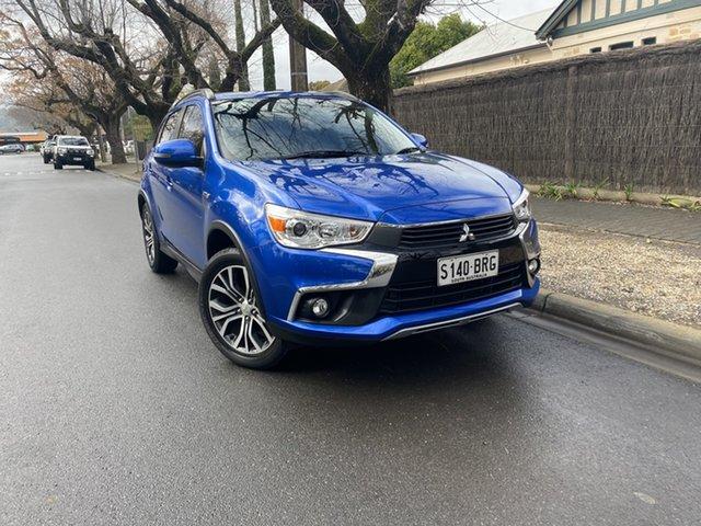 Pre-Owned Mitsubishi ASX XC MY17 LS 2WD Hawthorn, 2017 Mitsubishi ASX XC MY17 LS 2WD Blue 6 Speed Constant Variable Wagon