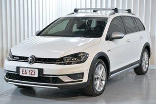 2017 Volkswagen Golf 7.5 MY17 Alltrack DSG 4MOTION 132TSI Premium White 6 Speed.