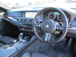 2013 BMW 5 Series F10 LCI 520d Steptronic M Sport White 8 Speed Sports Automatic Sedan.
