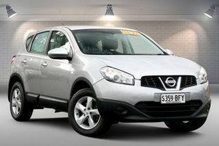 2012 Nissan Dualis J10W Series 3 MY12 ST Hatch X-tronic 2WD Silver 6 Speed Constant Variable.