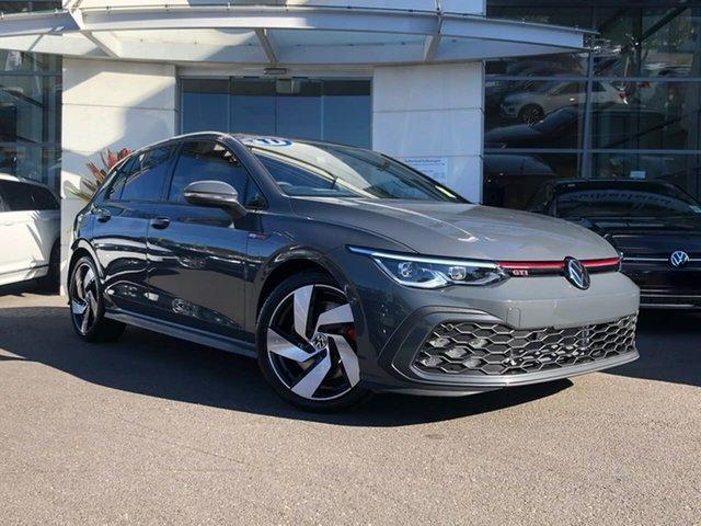 New Volkswagen Golf 8 MY21 GTI DSG Sutherland, 2021 Volkswagen Golf 8 MY21 GTI DSG Dolphin Grey 7 Speed Sports Automatic Dual Clutch Hatchback