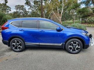 2019 Honda CR-V RW MY20 VTi-LX 4WD Blue 1 Speed Constant Variable Wagon.