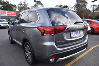 2017 Mitsubishi Outlander ZK MY18 LS AWD Grey 6 Speed Constant Variable Wagon.