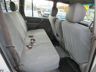 2003 Toyota Landcruiser HZJ105R (4x4) White 5 Speed Manual 4x4 Wagon