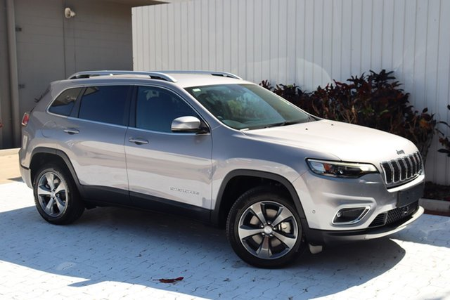 New Jeep Cherokee KL MY21 Limited Cairns, 2021 Jeep Cherokee KL MY21 Limited Billet 9 Speed Sports Automatic Wagon