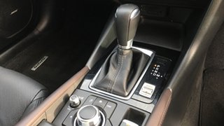 2018 Mazda 3 BN5238 SP25 SKYACTIV-Drive Astina Black 6 Speed Sports Automatic Sedan