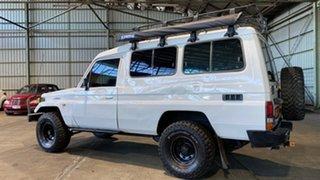 1994 Toyota Landcruiser HZJ75RV Troopcarrier White 5 Speed Manual Hardtop