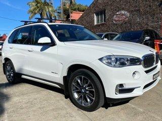 2017 BMW X5 F15 MY16 xDrive30d White 8 Speed Automatic Wagon.
