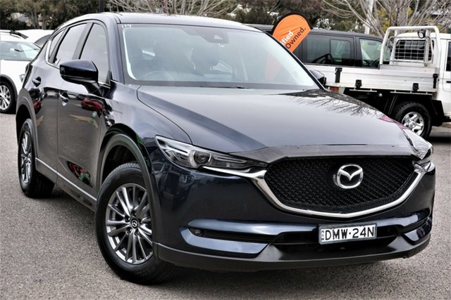 Used Mazda CX-5 KE1072 Maxx SKYACTIV-Drive FWD Sport Phillip, 2017 Mazda CX-5 KE1072 Maxx SKYACTIV-Drive FWD Sport Blue 6 Speed Sports Automatic Wagon