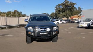 2015 Ford Ranger PX XLT Double Cab Blue 6 Speed Sports Automatic Utility.